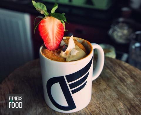 Süßkartoffel Protein-Mugcake