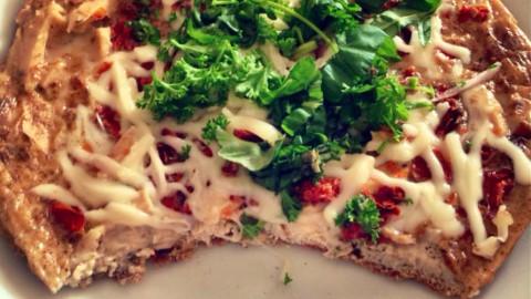"Thunfisch-Eiweiß ""Pizza"" – lowcarb"