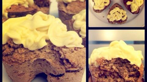 Zimt-Ingwer Protein Muffins