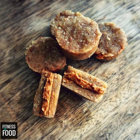 Peanutbutter Cookies mit Peanutbutter Füllung