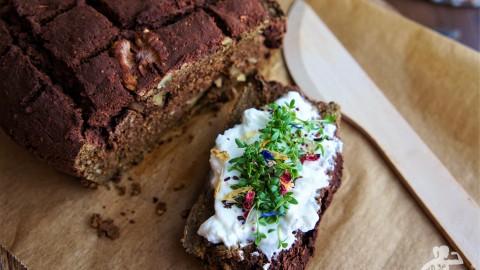 Walnuss-Brot mit Roter Beete