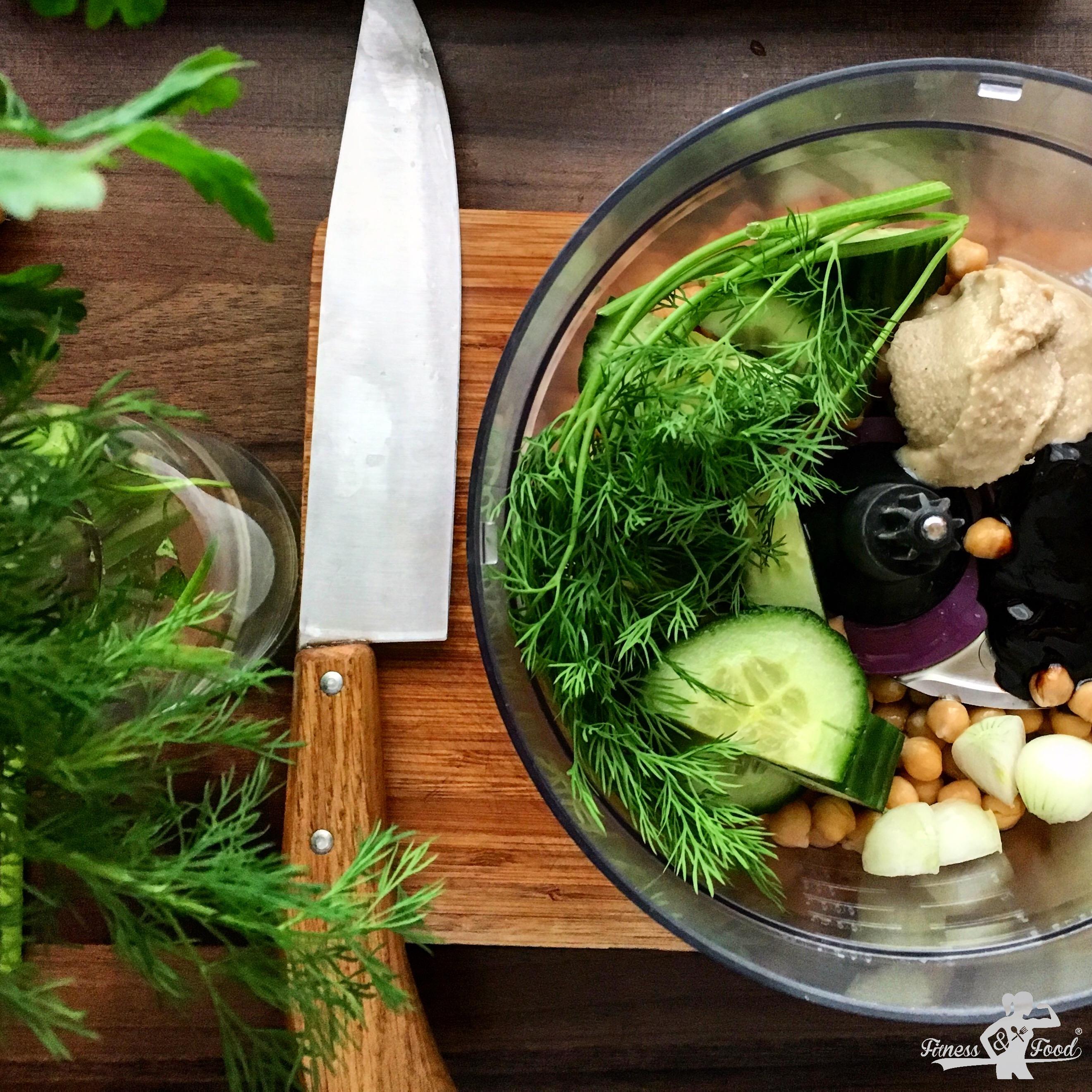 gurken hummus easy und gesund fitness and food. Black Bedroom Furniture Sets. Home Design Ideas
