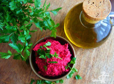 Rote Beete Hummus