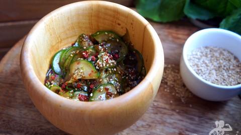 Japanischer Gurkensalat – Sunomono