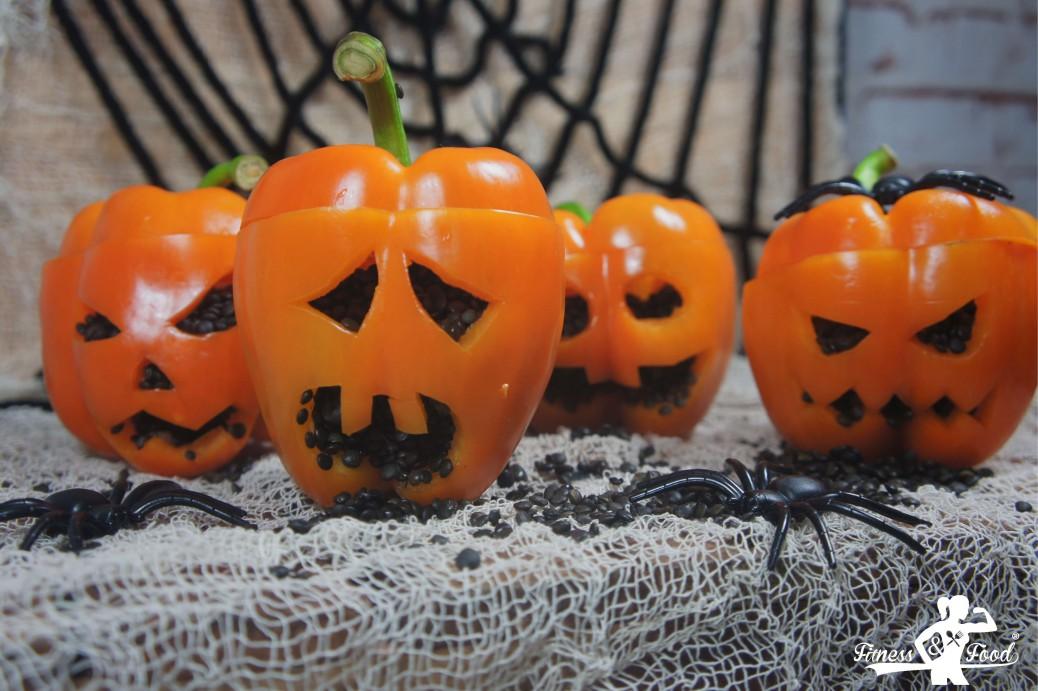 Halloween 30 Oktober.Das Perfekte Grusel Dinner Gebackene Paprika Mit