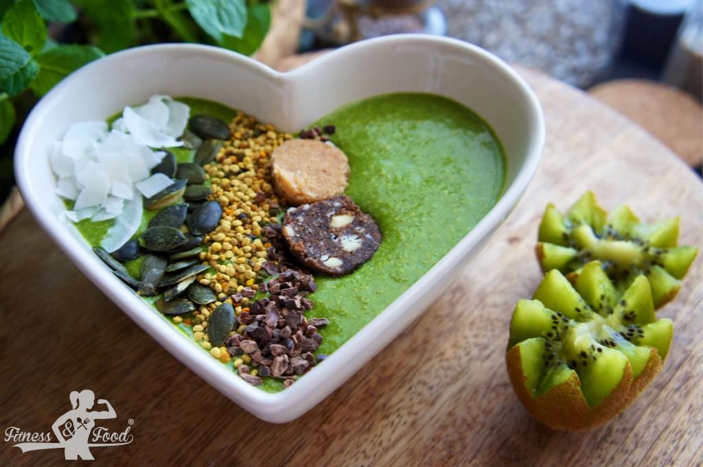 vegane Matcha-Bowl