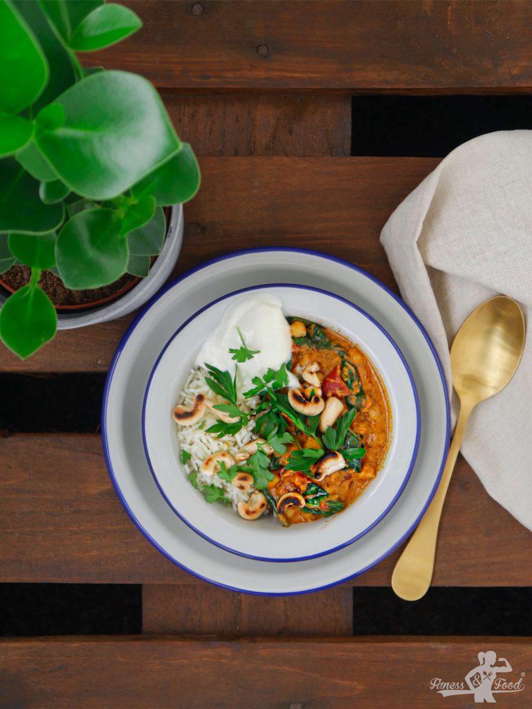 Aromatisches Kichererbsen Curry. Vegan und glutenfrei