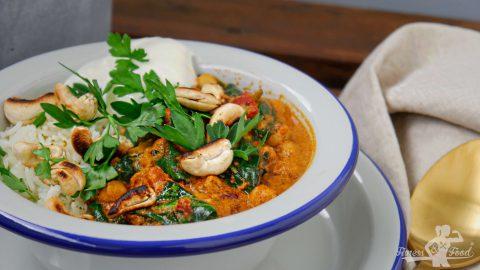 Aromatisches Kichererbsen Curry – vegan & glutenfrei