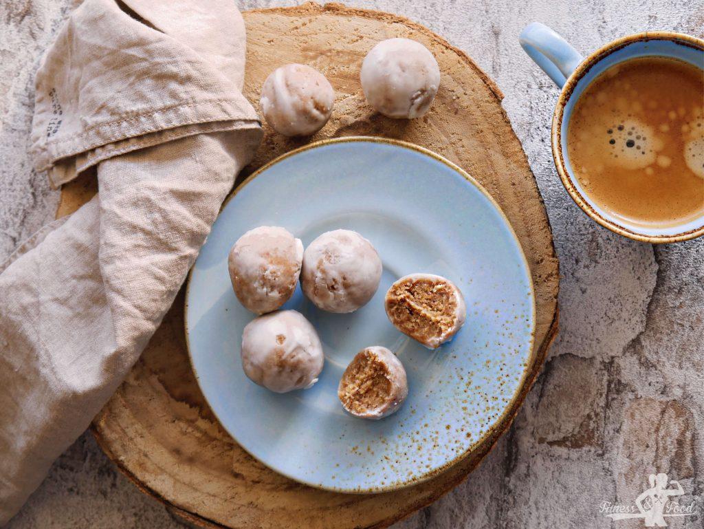 Vanille-Karamell-Kokos Trüffel
