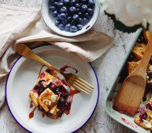Gebackenes French Toaat – vegan & glutenfrei