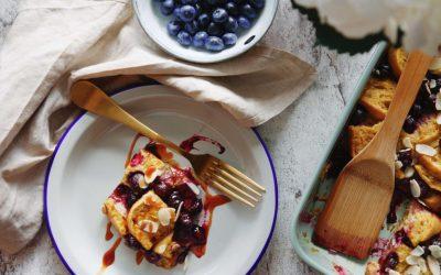 Gebackenes French Toast – vegan & glutenfrei