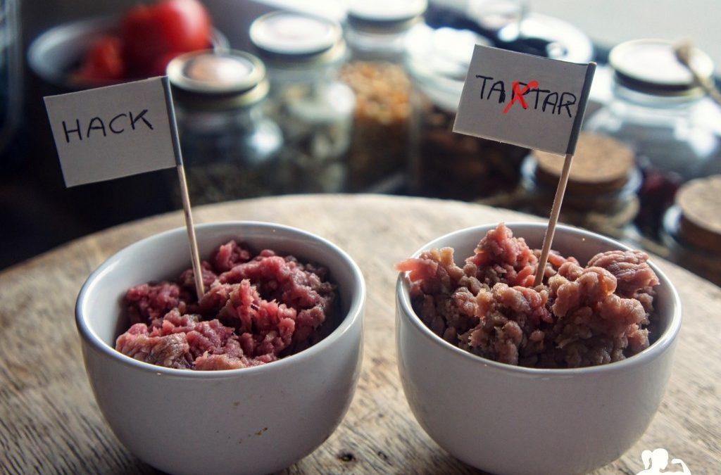 💡QUICK-FACTS: Rinder-HACK & Rinder-TATAR Was ist der Unterschied?