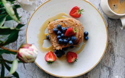 Veganes Banane-Cashew French Toast