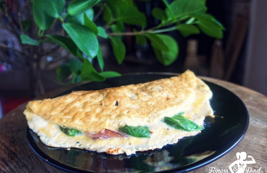Eiklar-Omelette mit Schinken & Mozzarella
