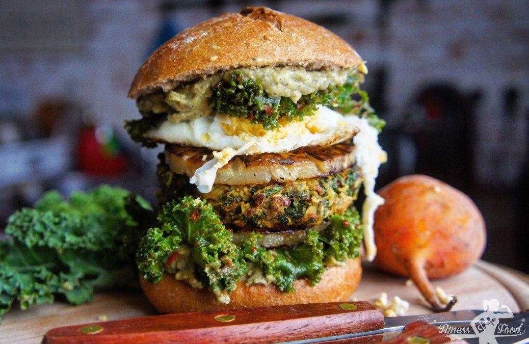Fitness&Food ALOHA BURGER – vegan!