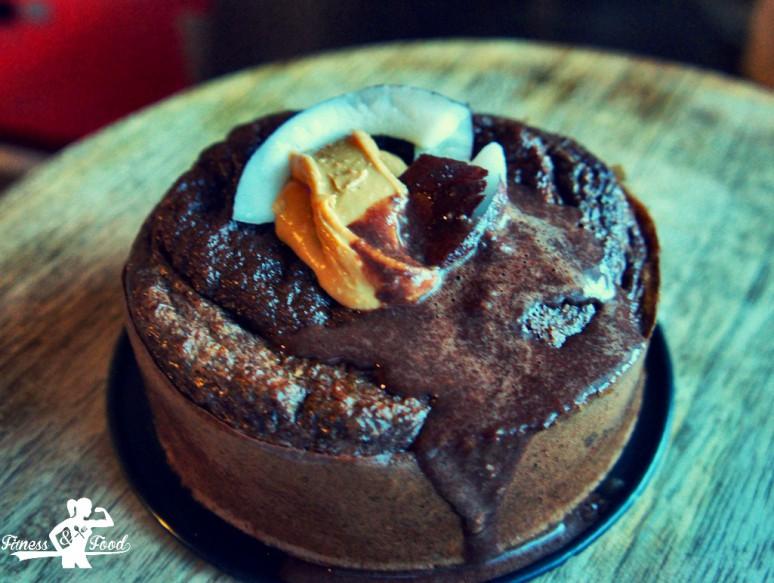 Schoko-Kokos Protein Lava-Cake