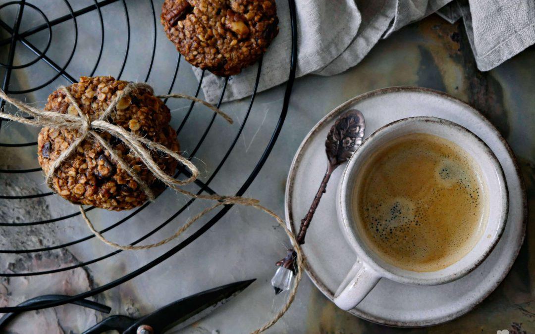 Gesunde Haferflocken-Tahini Kekse