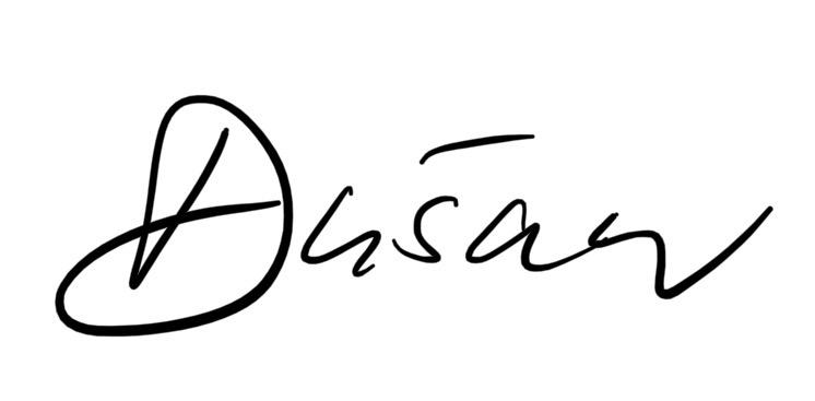 Unterschrift Dusan